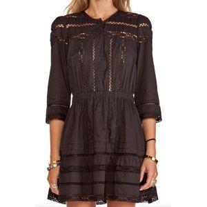 Tularosa Payton Prairie Lace Dress Black
